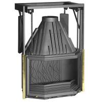 Топка чугунная Invicta Hearth 850 Prismatic lifting door