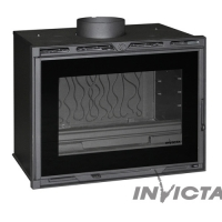 Турбо топка DOUBLE PORTE Invicta Insert 800 turbo