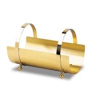 10.049 – Porta legna in ottone