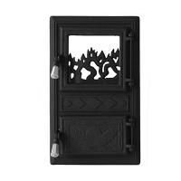 Каминная дверь Bujor G Black
