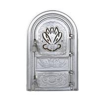 Каминная дверь NUFAR G Silver