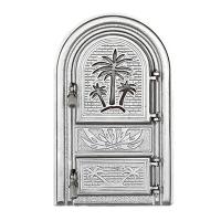 Каминная дверь PALMIER G Silver