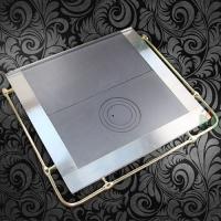 Чугунная плита U Halmat 630x630
