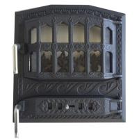 Каминная дверь Royal CLASIC Black