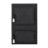Каминная дверь Bujor P Black
