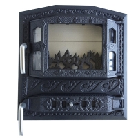 Каминная дверь Royal MODERN Black