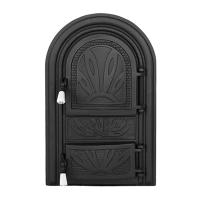 Каминная дверь SIRIUS P Black