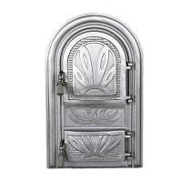 Каминная дверь SIRIUS P Silver