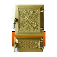 Печная дверь TRADITIONAL Golden