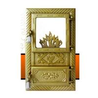 Каминная дверь INTIM Golden