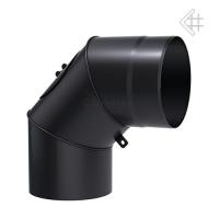 Колено Kratki 130/90 2мм сталь