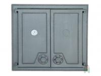 Чугунная  дверь Halmat DW6T