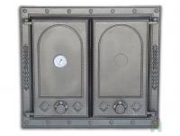 Чугунная  дверь Halmat DW7T