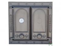 Чугунная  дверь Halmat DW8T