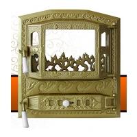 Каминная дверь Royal MODERN Golden