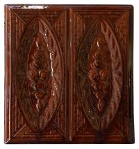 Кафельная плитка Роза коричневый