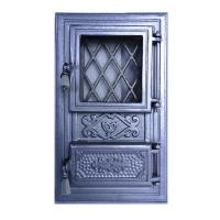 Каминная дверь INTIM G Silver