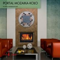 Камин Jabo-Marmi Portal Mozaika-Kolo