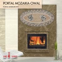 Камин Jabo-Marmi Portal Mozaika-Owal