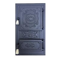 Каминная дверь INTIM P Black