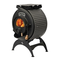 Калориферная печь TK-BRUNO-BRM1-001