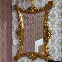 Зеркало ROYAL MIRROR PU298  GOLD