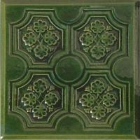 Плитка лицевая  Panzeluta зеленый