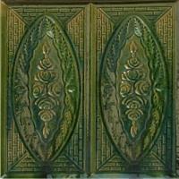 Плитка лицевая  Trandafir зеленый