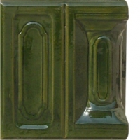 Угол лицевой Bizantin зеленый