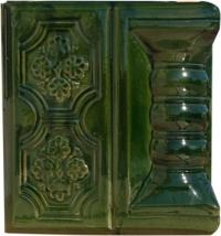 Угол лицевой Panzeluta зеленый