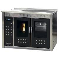 Термокухня на пеллетах Klover Smart 120 inox