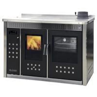 Термокухня на дровах Klover Smart 120 L INOX