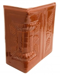 Кафельный угол Romanceram Виноград коричневый