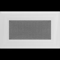 Решетка Kratki Оскар белая 11x17