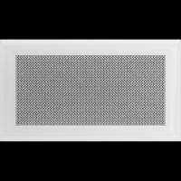 Решетка Kratki Оскар белая 17x30