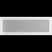 Решетка Kratki Оскар белая 17x49