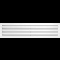 Решетка Kratki Fresh белая 17x70