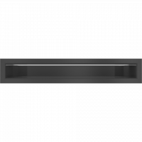 Решетка Kratki Люфт SF черный 6x40
