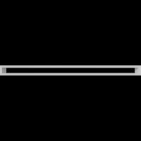 Решетка Kratki Тунэль белый 6x100