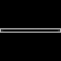 Решетка Kratki Тунэль стальной 6x100