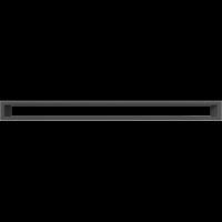 Решетка Kratki Тунэль черный 6x80